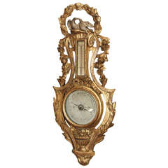18th Century Louis XV Barometer
