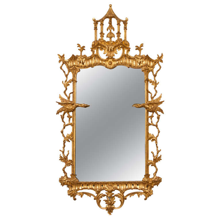 Important Chinese Chippendale Mirror At 1stdibs