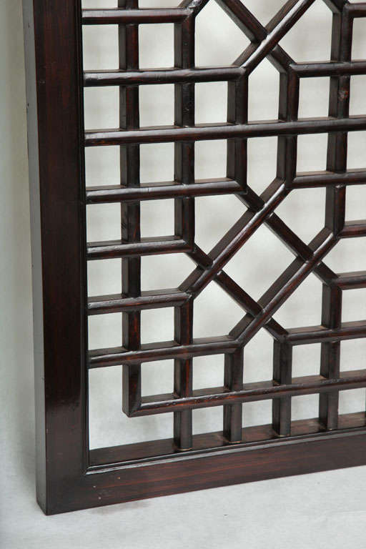 Chinese Lattice Screen At 1stdibs