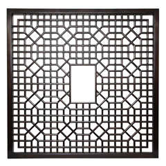 Chinese Lattice Screen