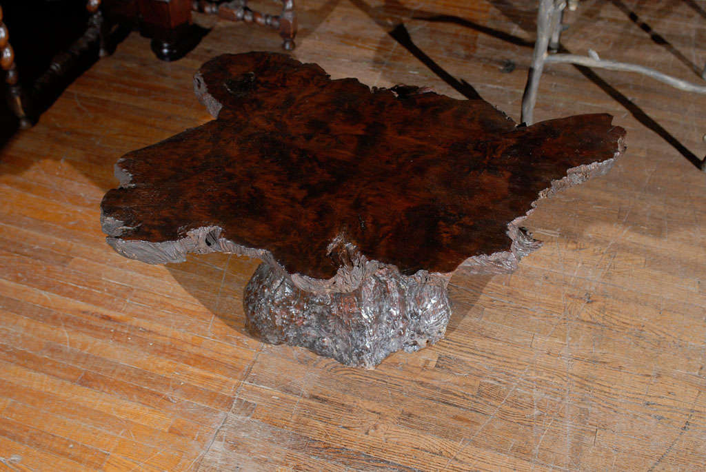 american vintage cypress wood coffee table for sale at 1stdibs