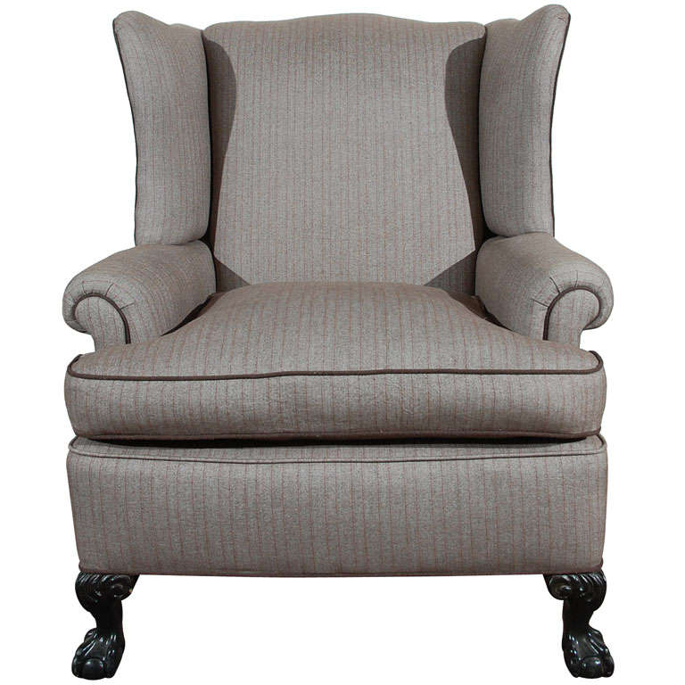cozy wingback chair cozy vintage upholstered wing back chair at 1stdibs 13569 | x