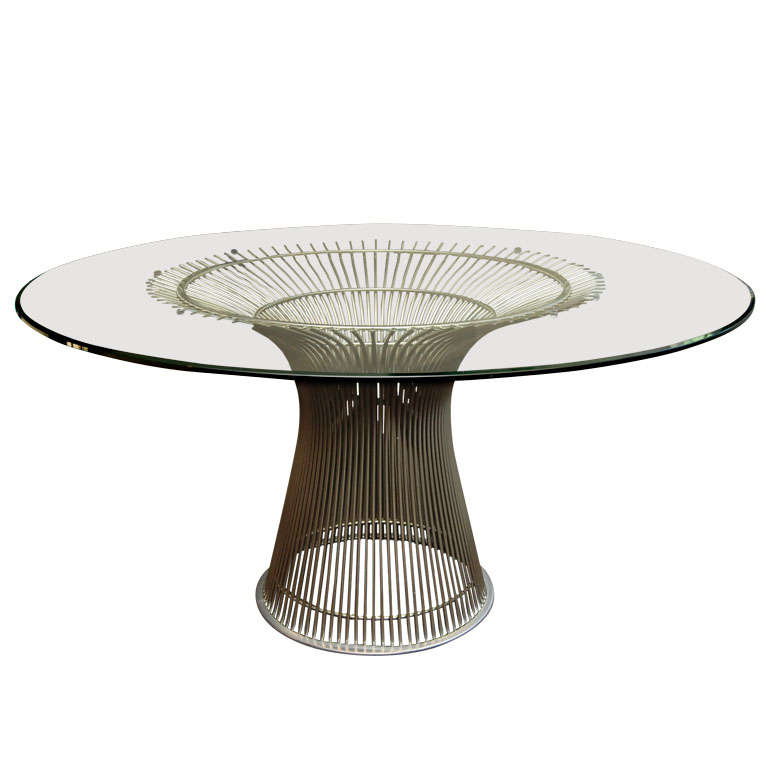 Warren platner reissue table at 1stdibs for Table warren platner