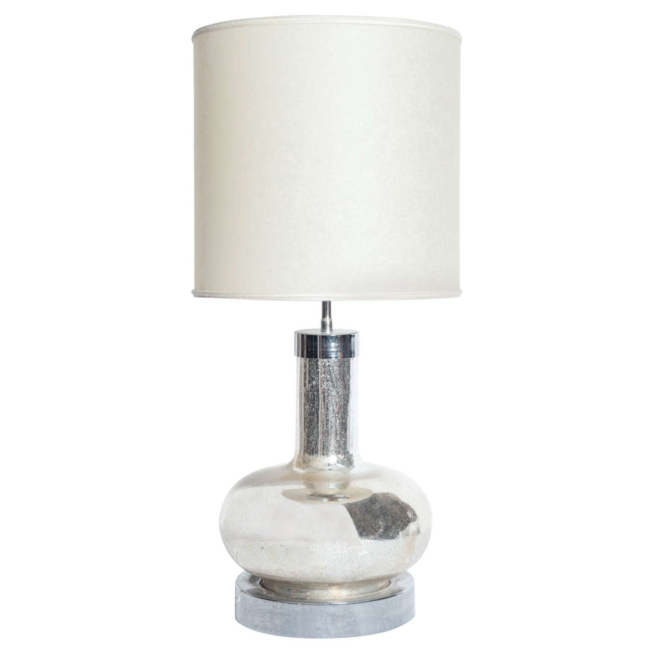 Mercury Glass Lamp For Sale At 1stdibs