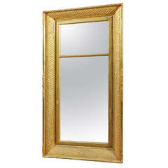 Lemon Gilt Mirror