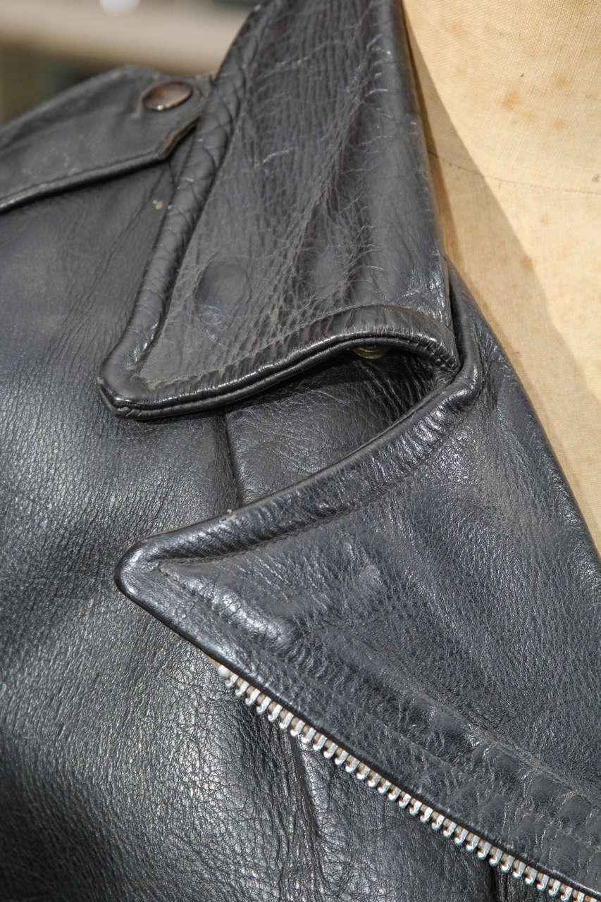 vintage motorcycle jacket at 1stdibs