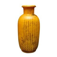 Kähler Yellow Pottery Vase