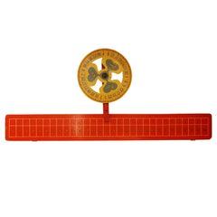 American Carnival game wheel and Board