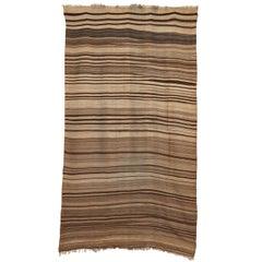 Desert Sand Vintage Moroccan Berber Flat-Weave