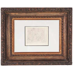 Iconic, Signed and Dated Picasso Etching