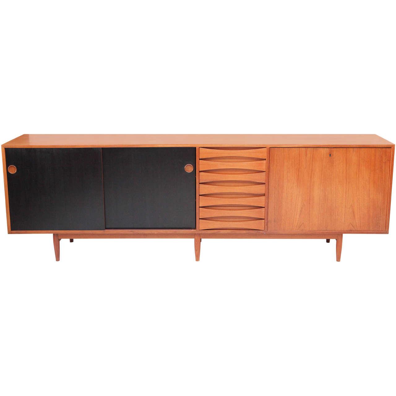 arne vodder sideboard at 1stdibs. Black Bedroom Furniture Sets. Home Design Ideas