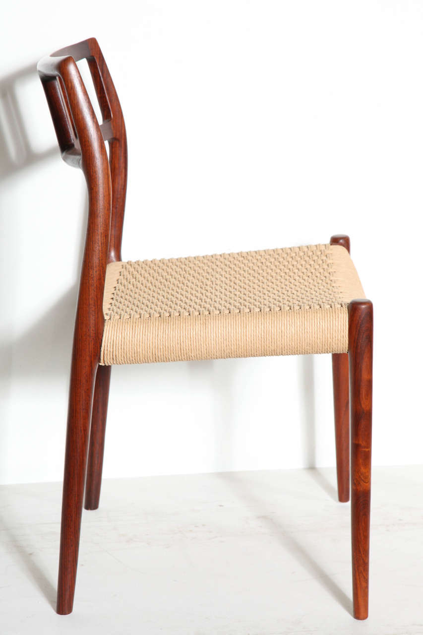 Niels Moller No 79 Dining Chairs Set Of Five At 1stdibs