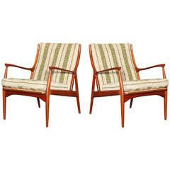 S. A. Andersen, Easy Chair, Model 70, Pair