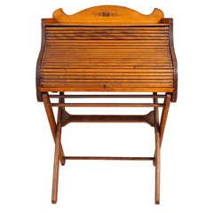 Victorian Child's Roll-Top Desk