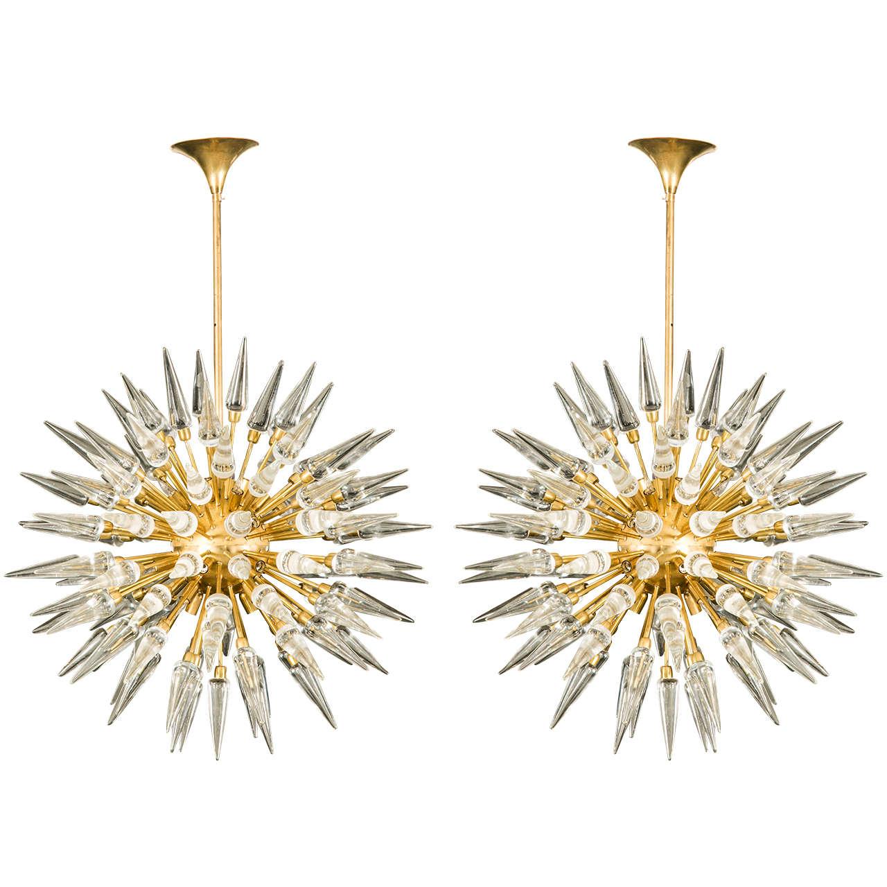 Exceptional sputnik chandeliers for sale at 1stdibs for Sputnik chandelier