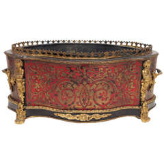 French Napoleon III Boulle and Gilt Bronze Jardiniere