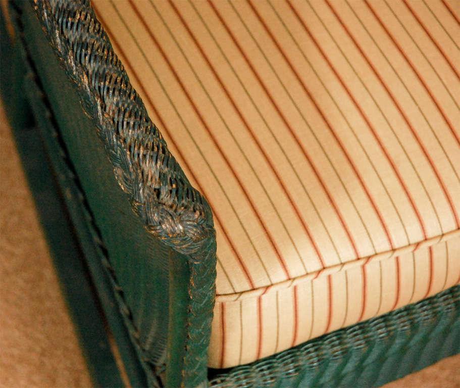 3pc Suite of Wicker Furniture 8