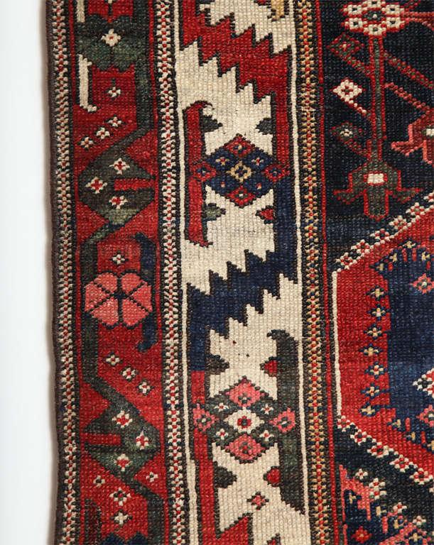 Persian Bibibaft Bakhtiari Carpet from Nooch Village, circa 1890 For Sale 3