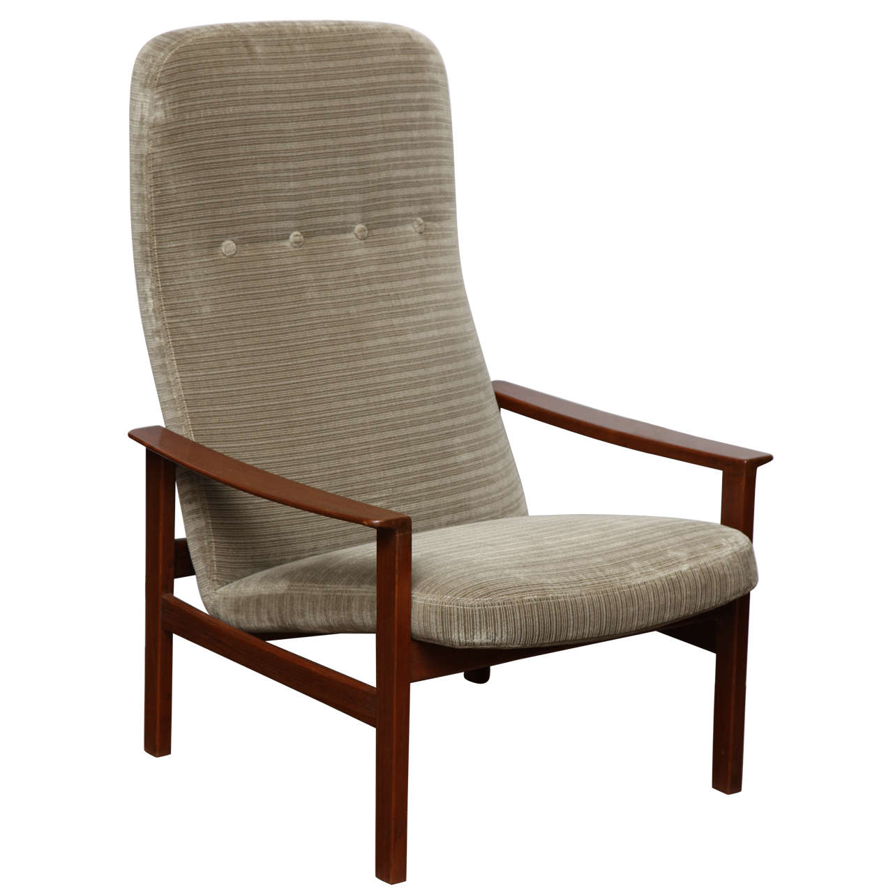 Danish Lounge Chair at 1stdibs