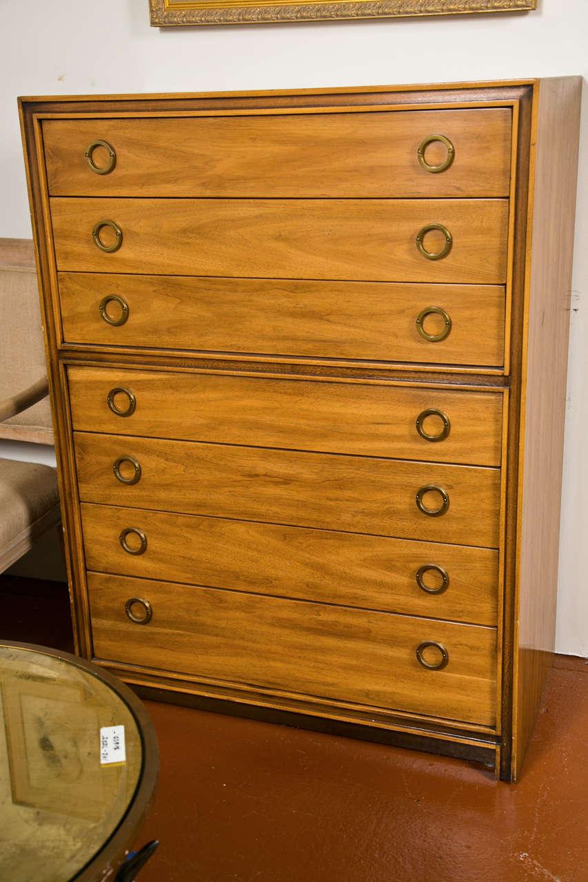 Mid-Century Modern Danish Chest Dresser 2
