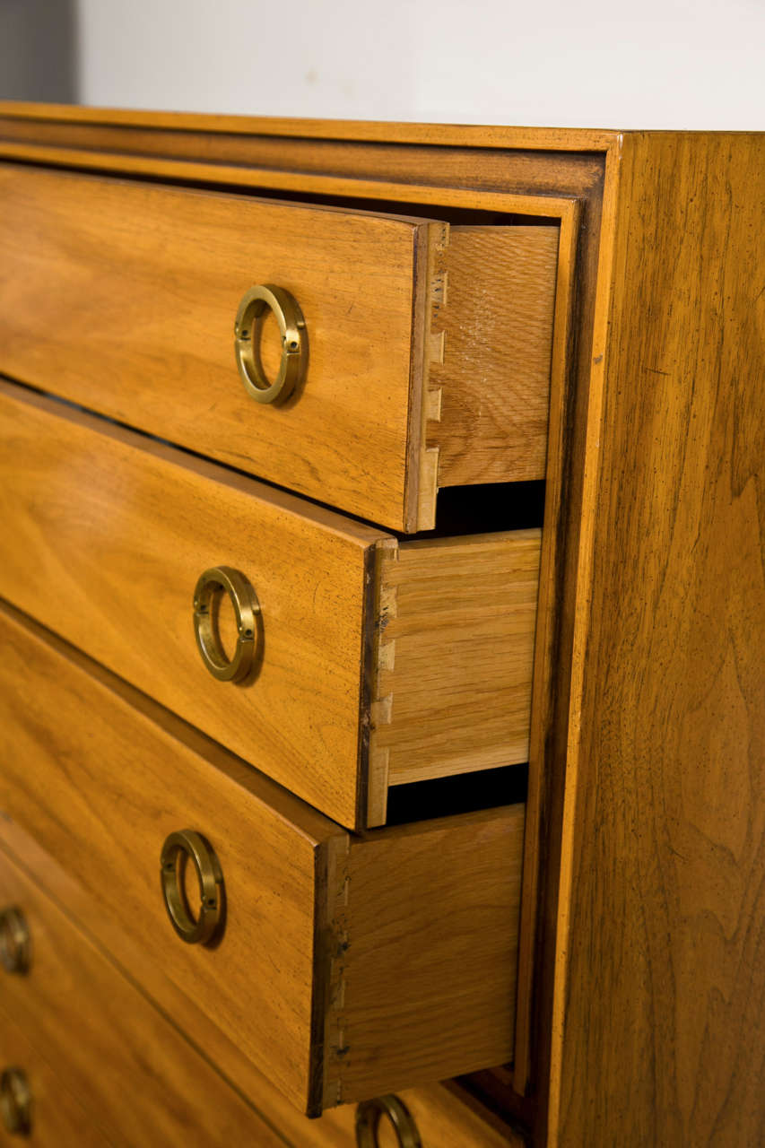 Mid-Century Modern Danish Chest Dresser 6