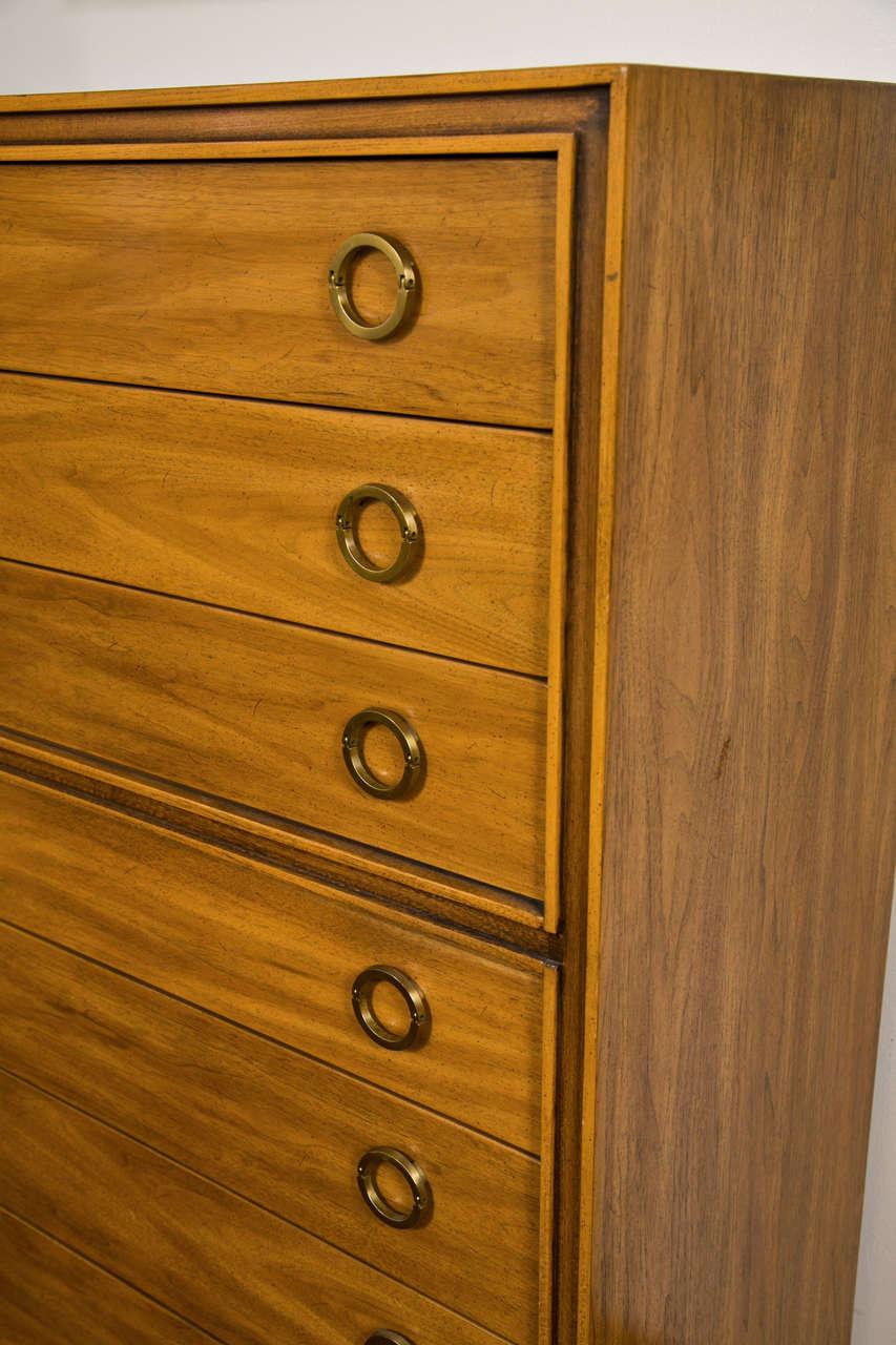 Mid-Century Modern Danish Chest Dresser 7