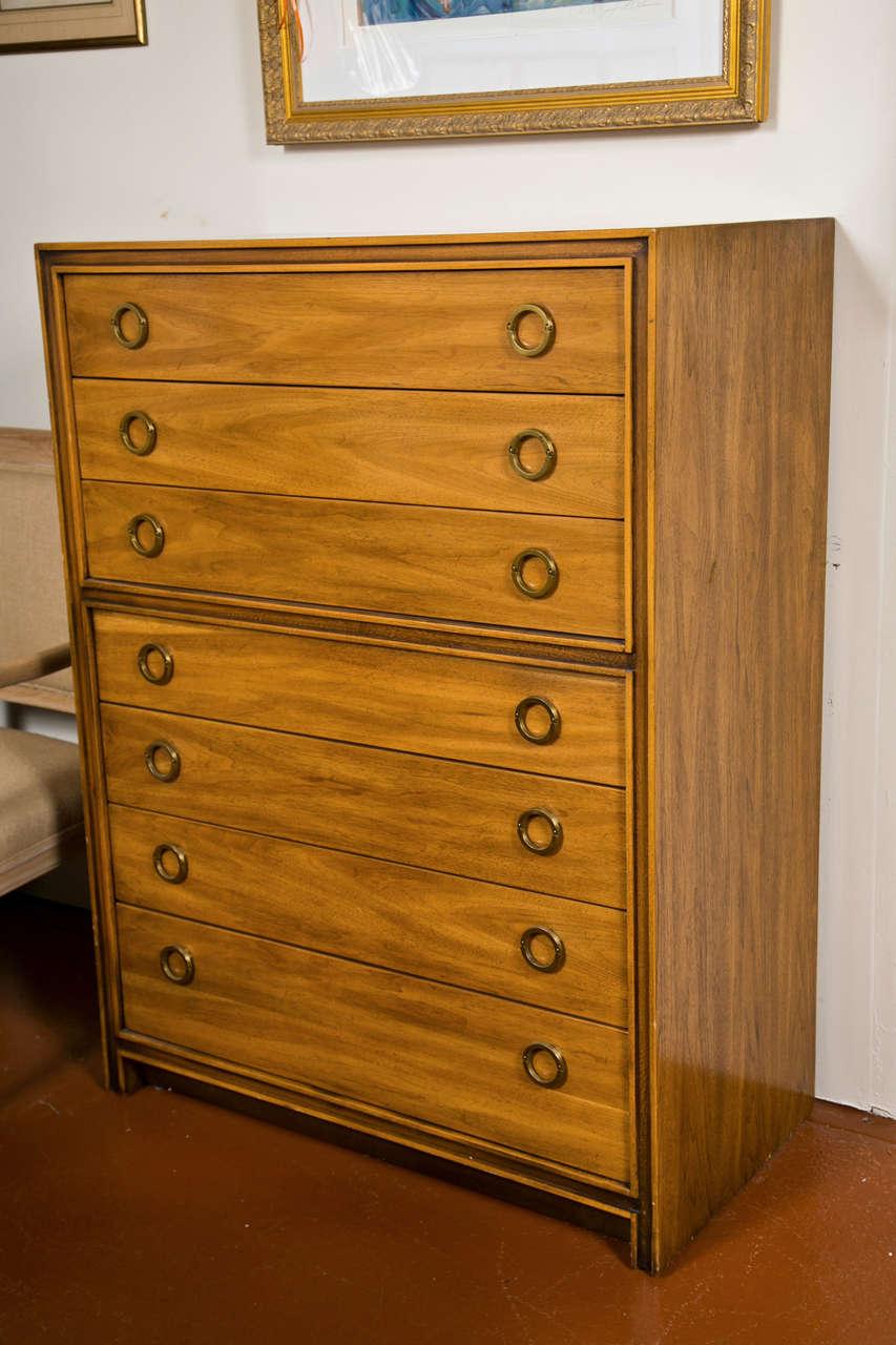 Mid-Century Modern Danish Chest Dresser 9