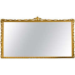 Large Over-the-Mantle  Wall Mirror