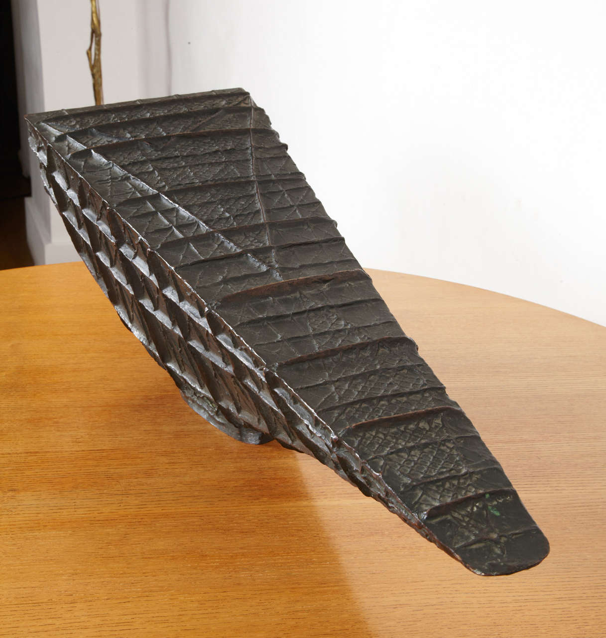 French Bronze barge by Henri-Georges Adam, 1956 For Sale
