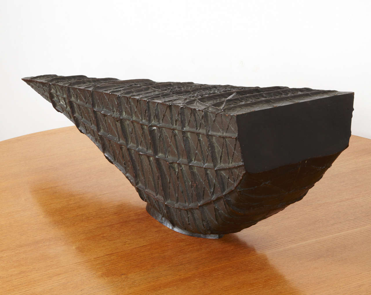 Bronze barge by Henri-Georges Adam, 1956 For Sale 1