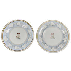 Pair of Flight, Barr & Barr Plates - Worcester Porcelain