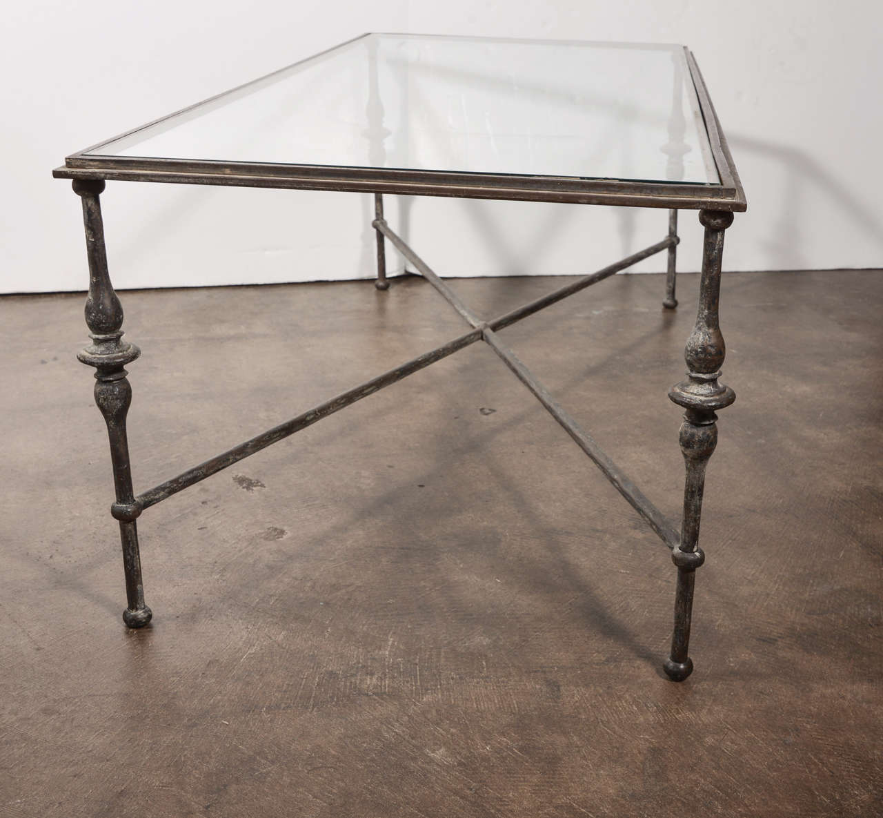 Vintage French Bronze Coffee Table At 1stdibs