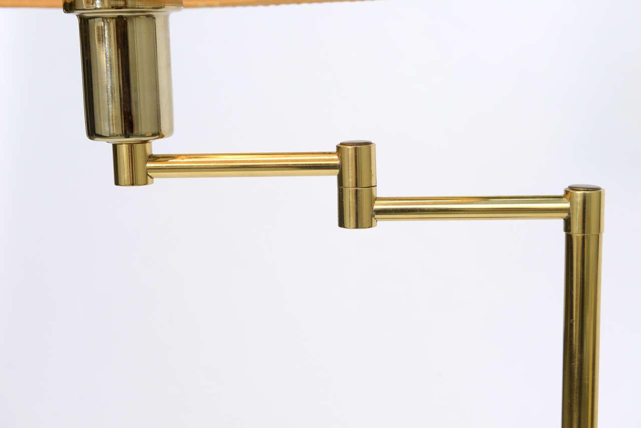 Laurel Brass Nessen Style Floor Lamp For Sale 3