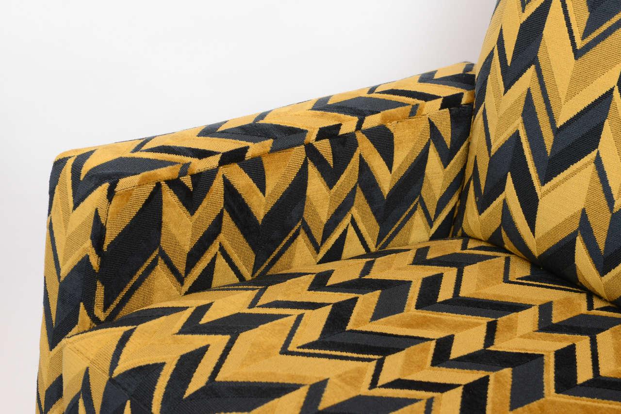 Italian Original Pair of Chic Lounge Chairs by Osvaldo Borsani For Sale