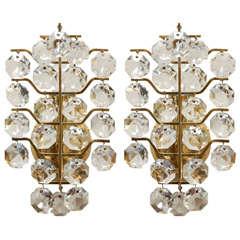 Italian Crystal Sconces