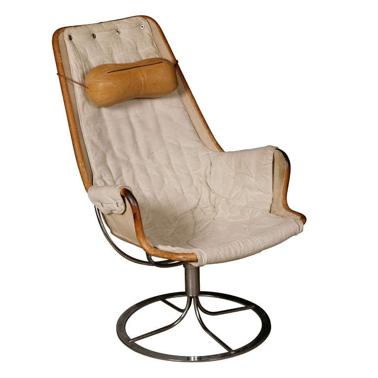 Jetson Chair By Bruno Mathsson With Armrests At 1stdibs