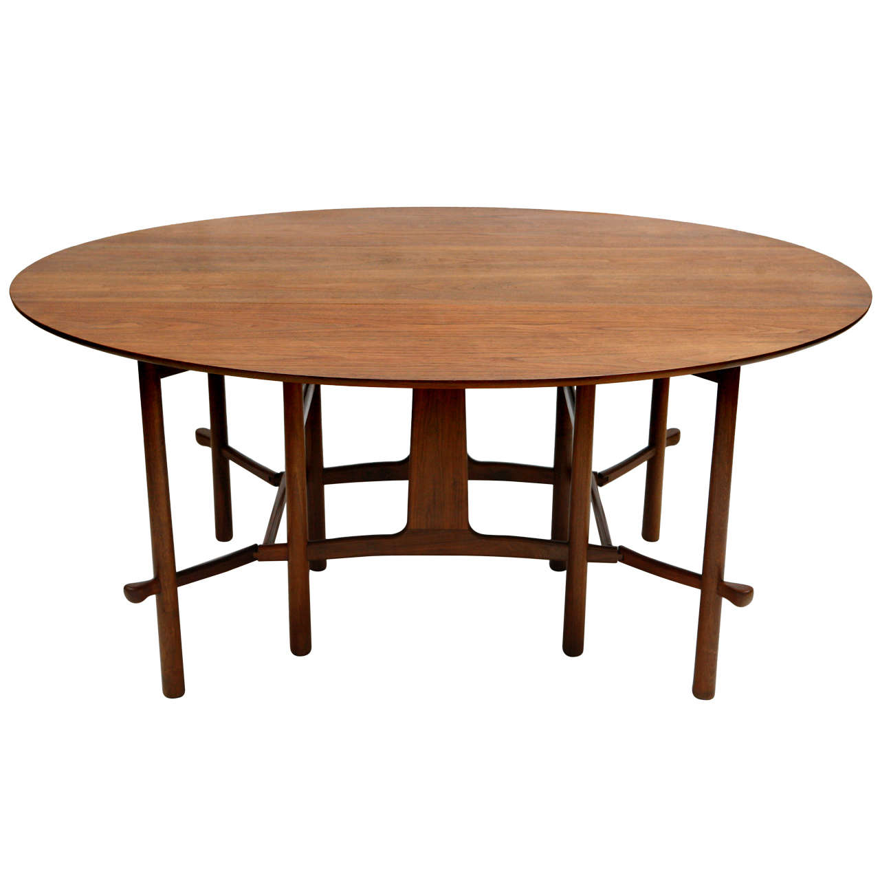 Heritage Henredon Gateleg Table For Sale at 1stdibs