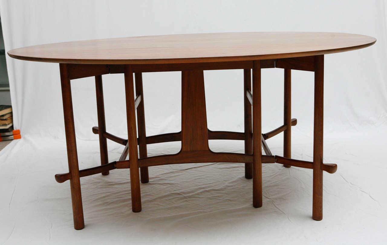 heritage henredon gateleg table 3