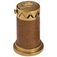 Machine Age Art Deco Elsa Tennhardt Patented Cigar Lighter