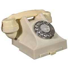 Mint original streamline bakelite telephone