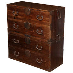 Japanese Traveling Chest