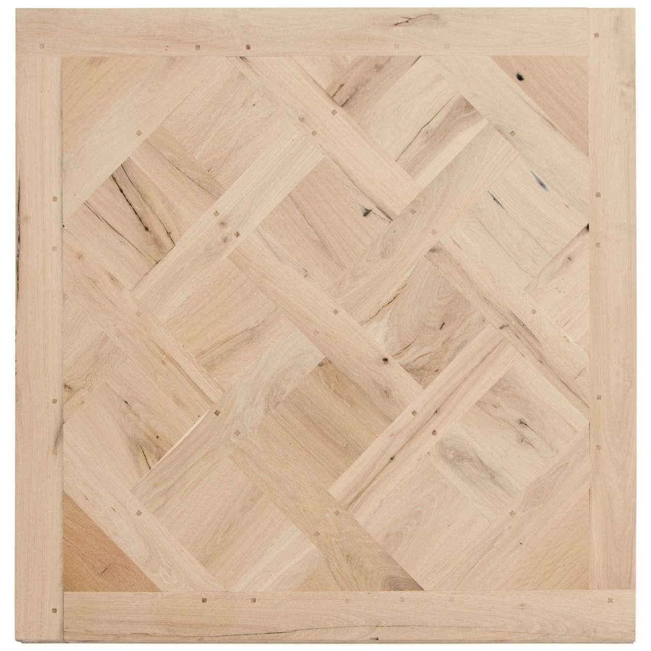 reclaimed oak versailles parquet flooring at 1stdibs. Black Bedroom Furniture Sets. Home Design Ideas
