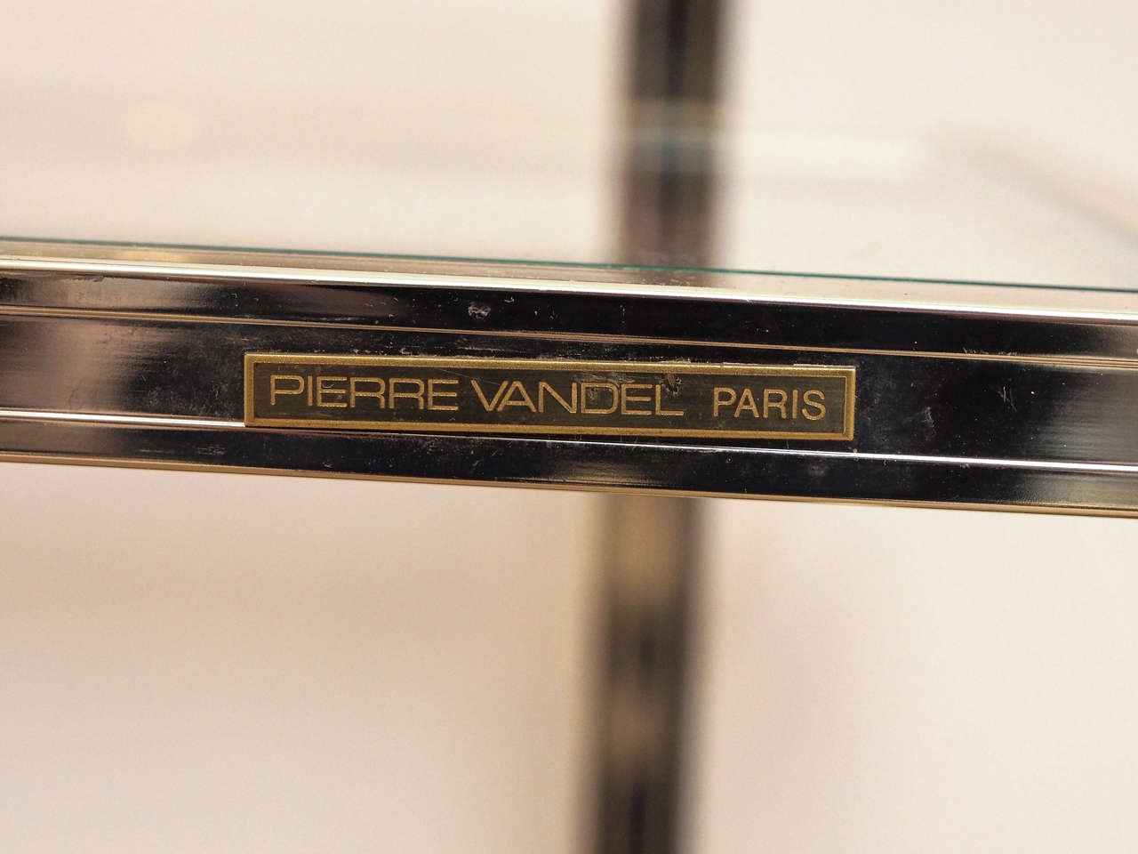 Console in Oak Ceruse by Pierre Vandel, Paris 6