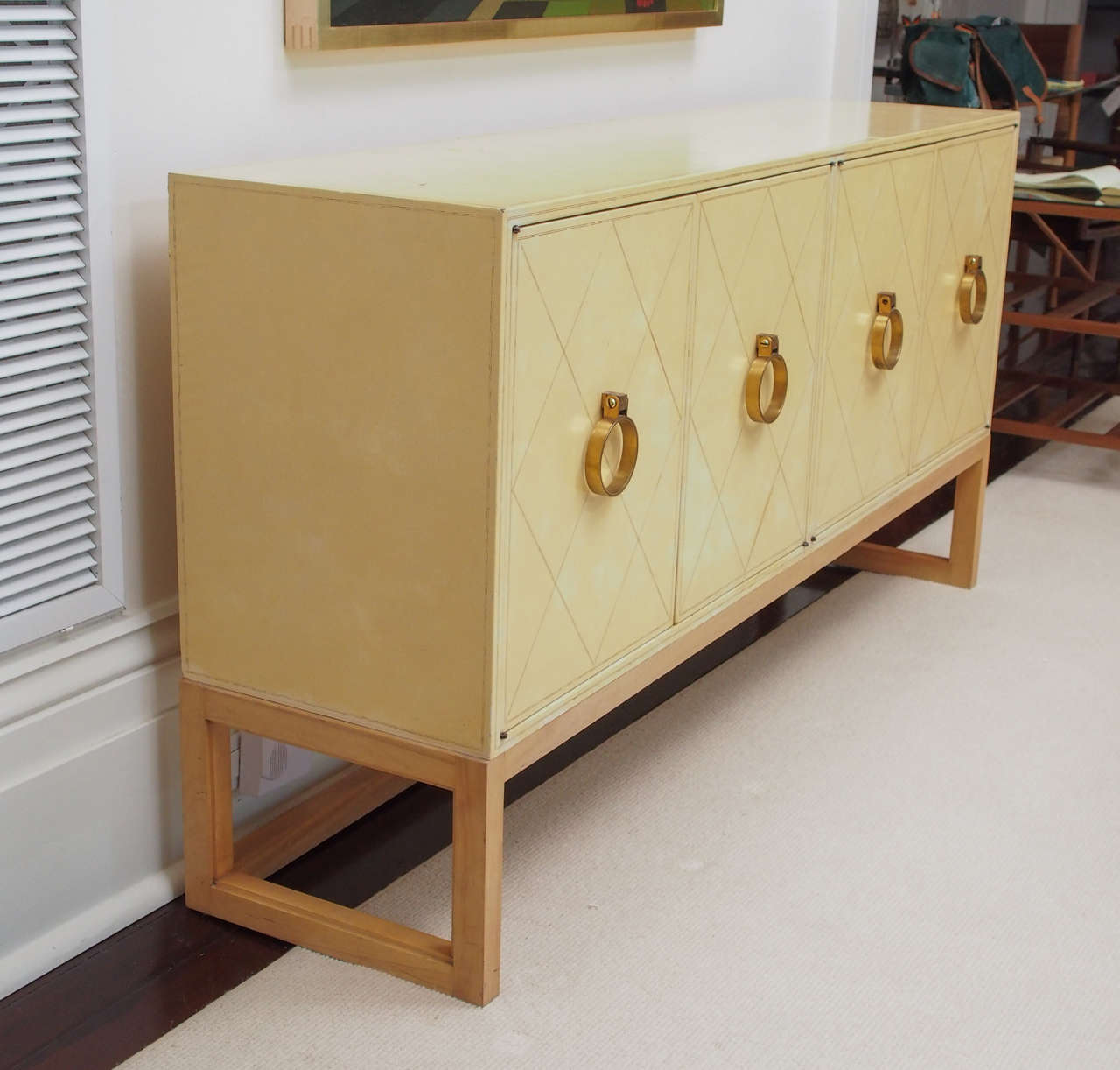 NEW PRICE SALE Exceptional Four-Door Credenza by Tommi Parzinger, circa 1940s 7