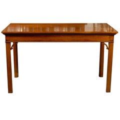 George III Mahogany Serving Table