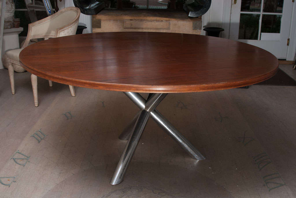 a metal base gueridon dining table for sale at 1stdibs