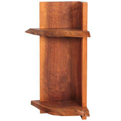 George Nakashima, 1973, Corner Shelf