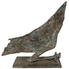 Mid-Century Modern Bird Sculpture