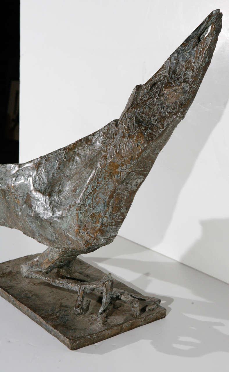 Mid-Century Modern Bird Sculpture For Sale 2