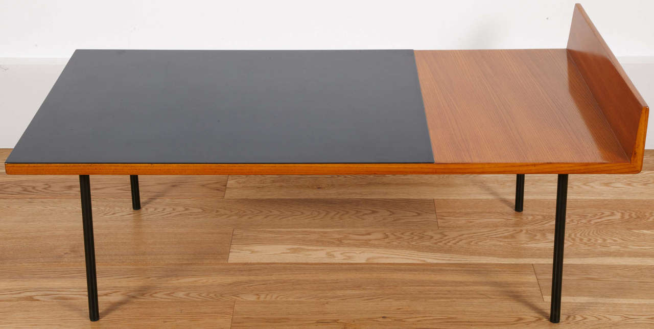 Low table model 132 by André Monpoix  Meubles TV Edition  19531954 at 1stdibs -> Modèle Table Tv